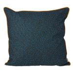Terrazzo cushion, dark blue