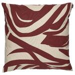 Marimekko Jokuraita tyynynpäällinen, 50 x 50 cm, beige - ruskea