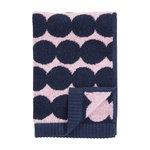 Asciugamano da ospiti Räsymatto, rosa - blu scuro