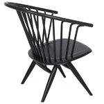 Crinolette chair, black