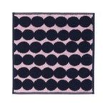 Asciugamano mini Räsymatto, rosa - blu scuro