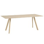 Copenhague CPH30 table 200x90cm, matt lacquered oak