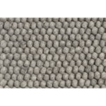 Peas rug, medium grey