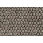 Peas rug, dark grey