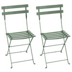 Bistro Metal chair, 2 pcs, cactus