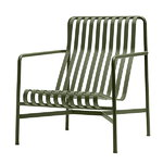 Palissade lounge chair, high, olive
