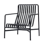 Hay Palissade lounge chair, high, anthracite