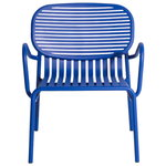 Week-end lounge chair, blue