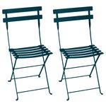 Bistro Metal chair, 2 pcs, acapulco blue