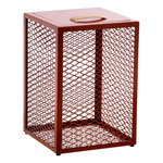 The Cube side table, rust
