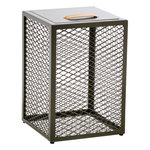 The Cube side table, olive