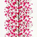 Tessuto Lumimarja, rosa