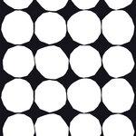 Tessuto Kivet, nero e bianco