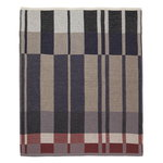 Ferm Living Medley Knit blanket, dark blue