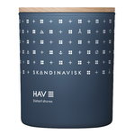 Skandinavisk Scented candle with lid, HAV, large