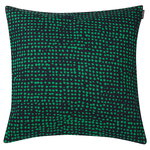 Orkanen cushion cover 40 x 40 cm, dark blue - green