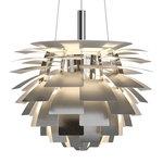 Lampada PH Artichoke, 480 mm, acciaio inox