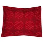 Puketti pillowcase, red - dark red