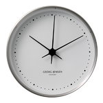 HK Clock stainless steel, large