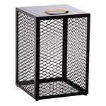 The Cube side table, dark brown