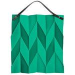 Iittala X Issey Miyake bag, emerald