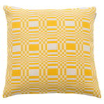 Doris cushion cover, yellow