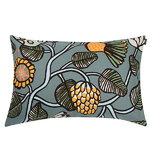 Tiara cushion cover, 40 x 60 cm, grey-yellow