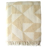 Ratzer Twist a Twill throw, beige
