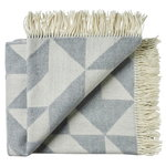 Twist a Twill blanket, light grey