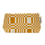 Doris cosmetics bag, M, ochre