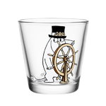 Moomin glass 21 cl, Moominpappa at the helm