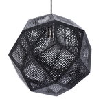 Tom Dixon Etch pendant, black