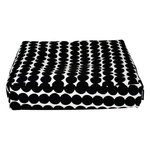Marimekko Räsymatto seat cushion, white - black