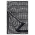 Laine bath towel, black - linen