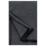 Laine bath towel, black - graphite