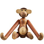 Wooden Monkey, medium, teak