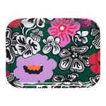 Kaukokaipuu tray, green - violet - red