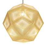 Tom Dixon Etch pendant, large, brass