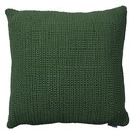 Divine cushion, 50 x 50 x 12 cm, dark green