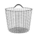 Wire Basket Bin 16, galvanized