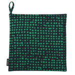 Orkanen pot holder, dark blue - green