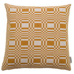 Doris cushion cover, ochre