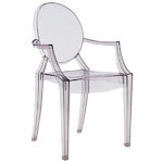 Louis Ghost chair, grey
