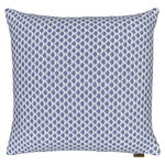 Drops cushion cover, wool, denim - white