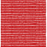 Räsymatto fabric, red-white