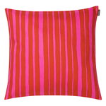 Raide cushion cover, 40 x 40 cm, red - pink