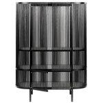 Bastone cabinet, black