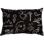 Onnenmaa cushion, black