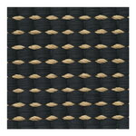 Woodnotes Duetto 1 rug, natural - black