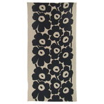 Unikko tablecloth, 140 x 280 cm, linen - dark blue